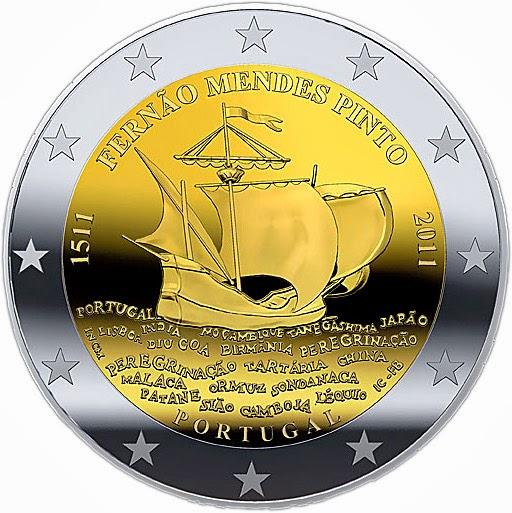 2 euro Portugal 2011, Fernão Mendes Pinto