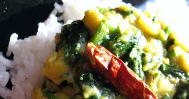 Toor Dal and Spinach Curry (Toor Dal Palak) | Lisa's Kitchen ...