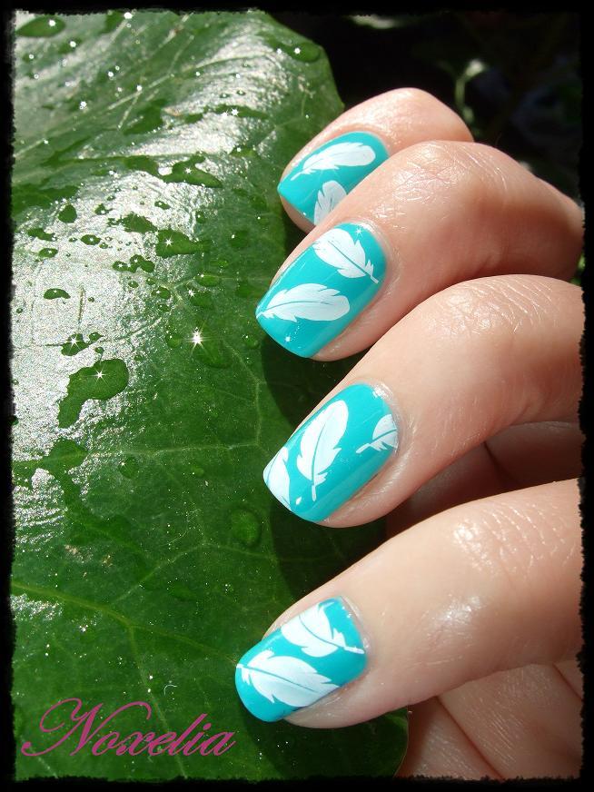 Noxelia: Stamping nail art: Look de uñas Nº 93