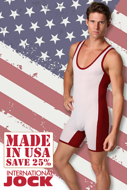 """Made in USA"" Sale at International Jock"