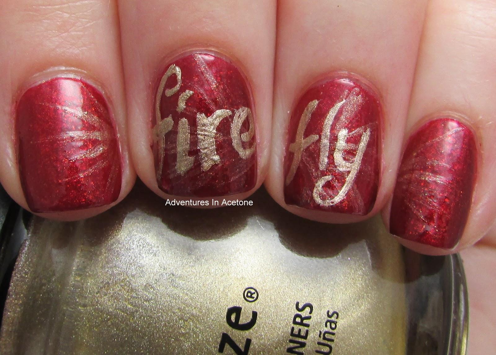 Digit Al Dozen Does Geek Day 4 Firefly Nails