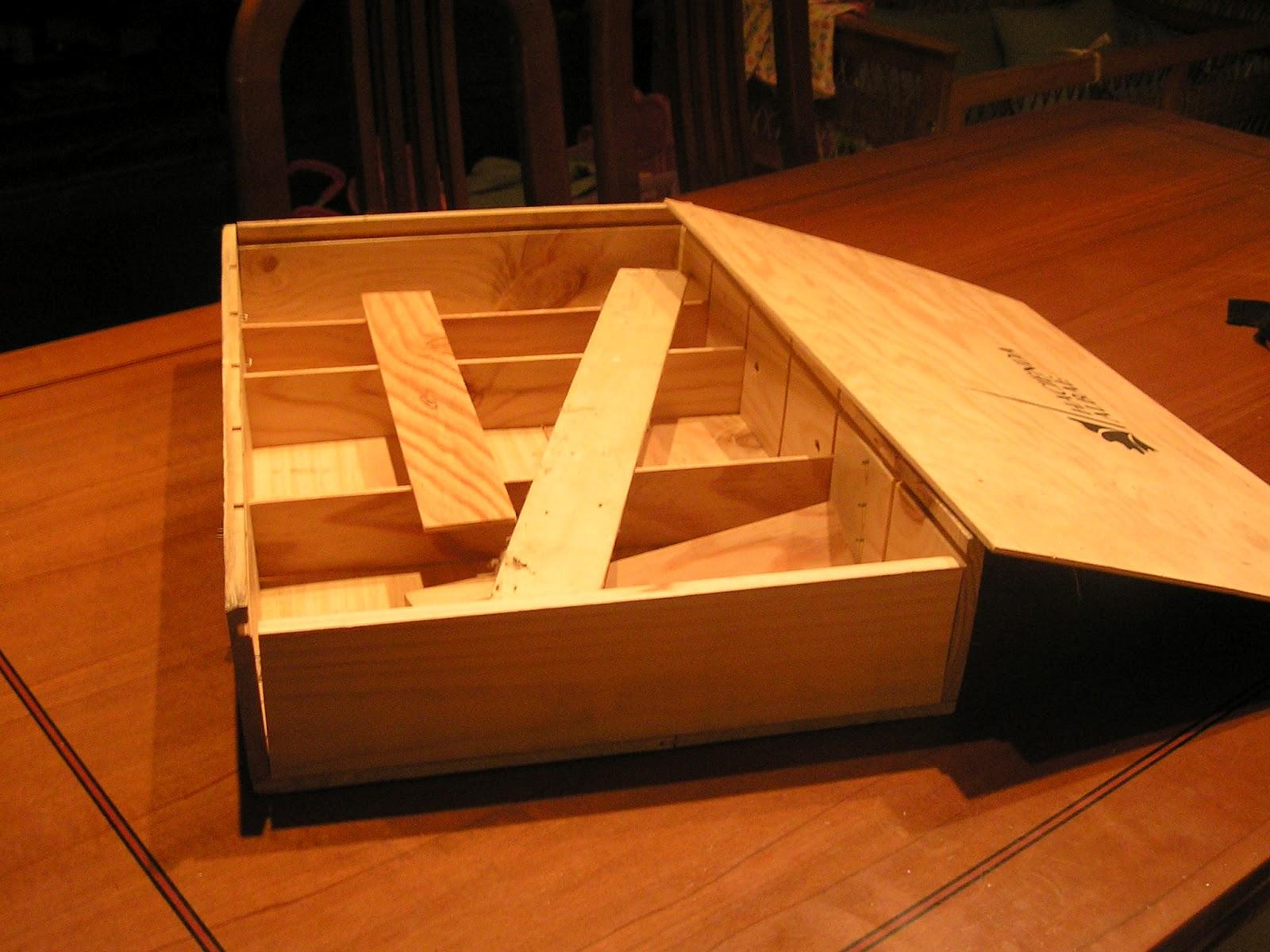 Hacer Un Baño A Nuevo:De Nuevo Nuevo: De como hacer de una caja de vino un práctico