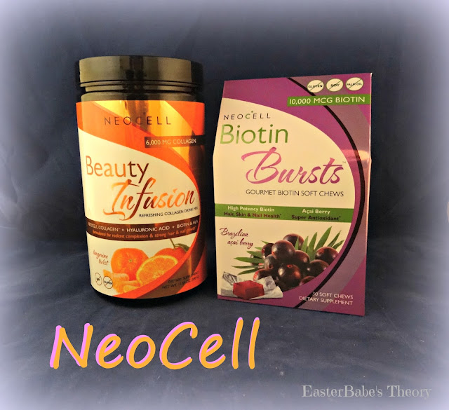 NEOCELL Beauty Infusion Drink Mix & Biotin Bursts Chews