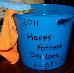 Father's Day Car Washing Bucket