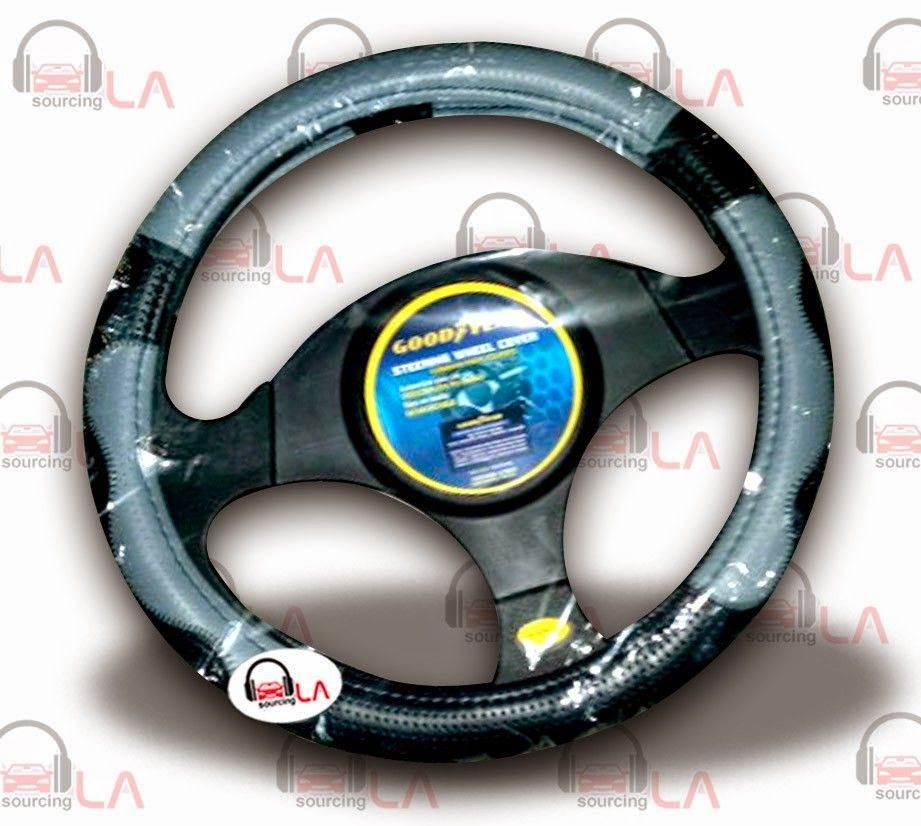 http://www.ebay.com/itm/Goodyear-Black-Grey-Steering-Wheel-Cover-14-5-15-5-Wheel-Size-Leather-/131344560132