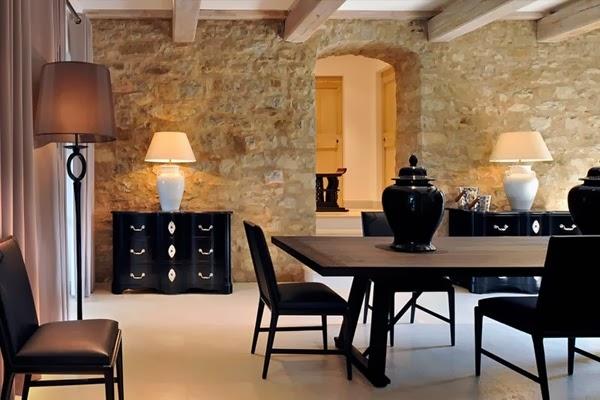 amenajari, interioare, decoratiuni, decor, design interior, stil clasic, vila , italia, sufragerie