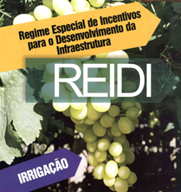 PROGRAMA DO GOVENO FEDERAL CRIA INCENTIVOS FISCAIS PARA AQUISIÇÃO DE EQUIPAMENTOS DE IRRIGAÇÃO - REIDI