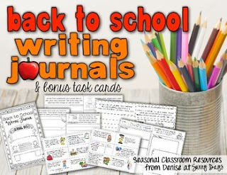 https://www.teacherspayteachers.com/Product/Back-to-School-Writing-Journal-and-Task-Cards-137991