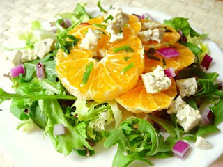 Ensalada de Naranja y Berro
