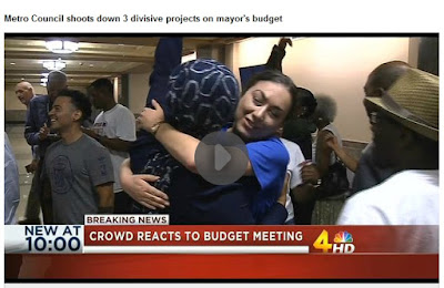 http://www.wsmv.com/clip/11583971/metro-council-shoots-down-3-divisive-projects-on-mayors-budget