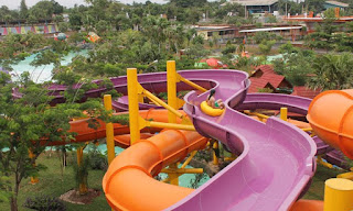 Raft Slide Water Kingdom Mekarsari
