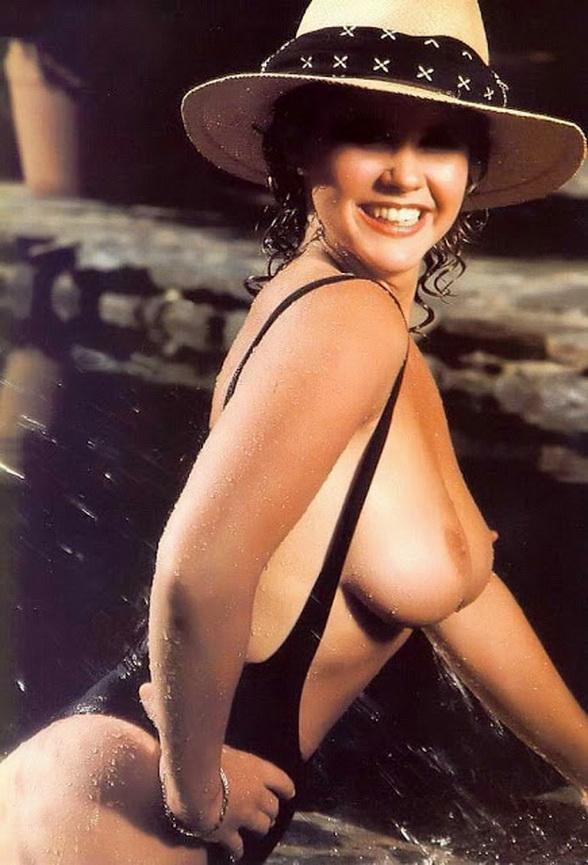 Marina Sirtis nackt, Oben ohne Bilder, Playboy Fotos,