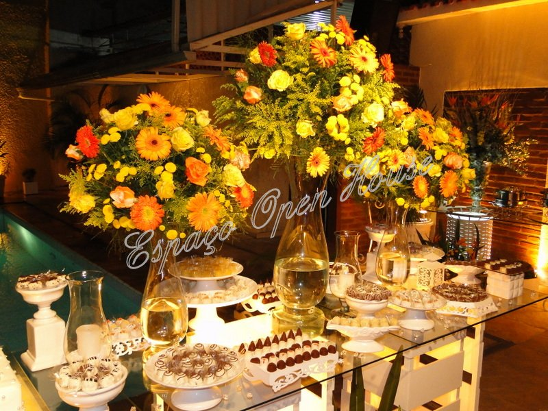 Muitas vezes Espaço Open House: Casamento Laranja & Amarelo IM51