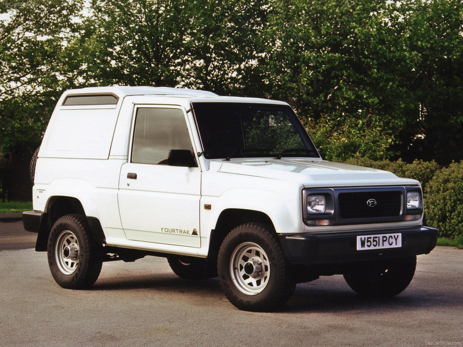 Hình ảnh xe ô tô Daihatsu Fourtrak 1997 & nội ngoại thất