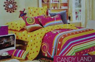 Sprei Candy Land
