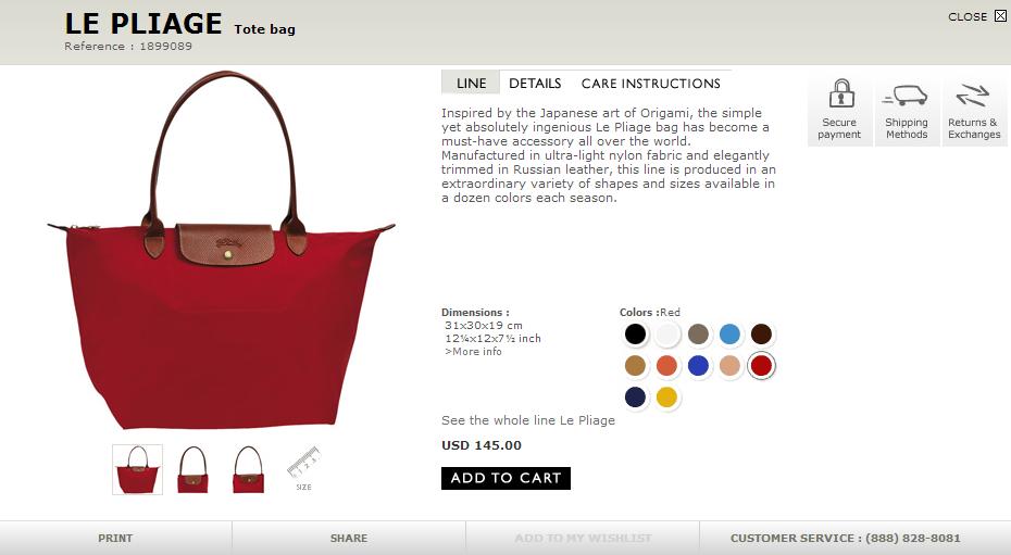 Longchamp Bag Le Pliage Size : Missl esther selling longchamp le pliage