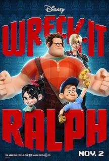 WRECK-IT RALPH 2012 MOVIE POSTER