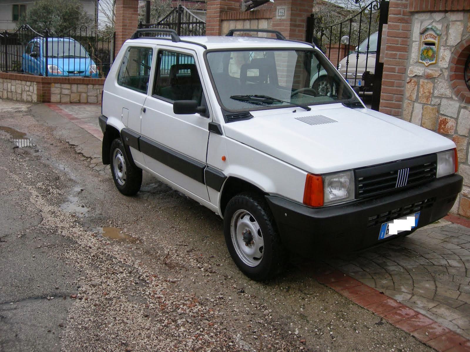 Fiat Panda 1.1 4x4 trekking 70.000 km Anno 2001