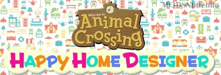 Mi 3ds nintendo animal crossing happy home designer for Wallpaper happy home designer