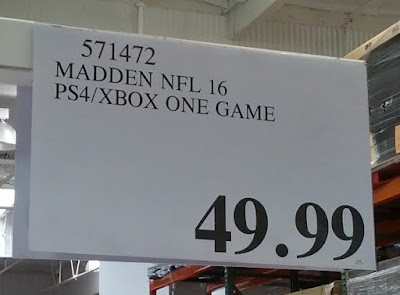 Deal for Madden 16 for PS4 and Xbox One at Costco
