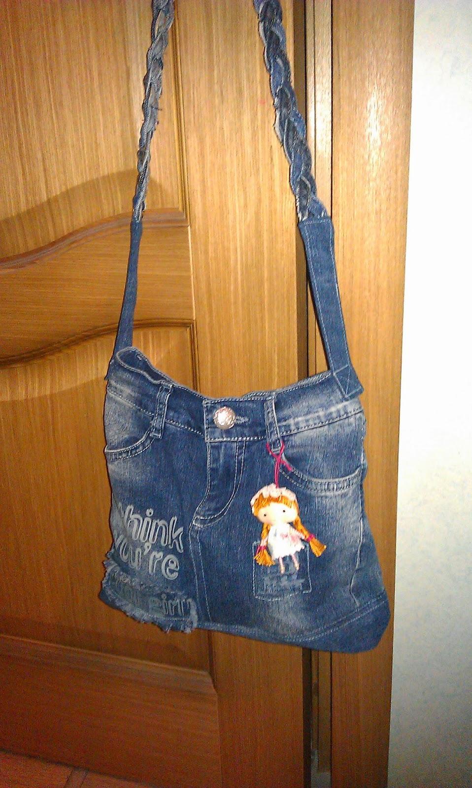 Идеи из старых джинсов своими руками сумки 97