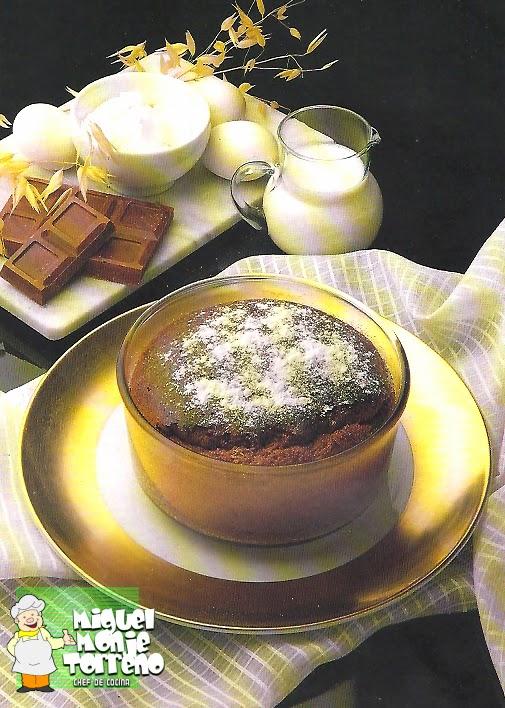 Mi Receta de Souffle de Chocolate