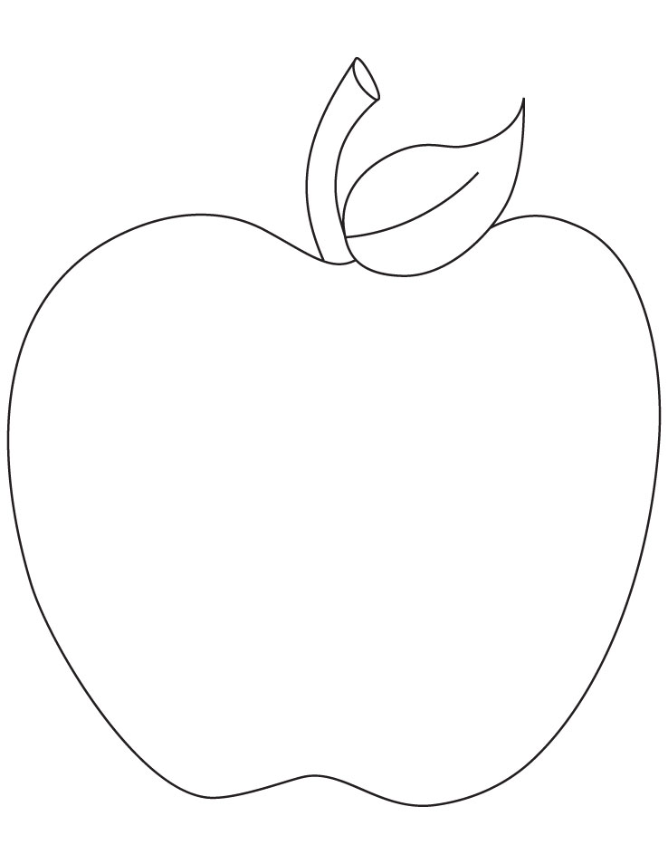 apple coloring pages kids - photo#28