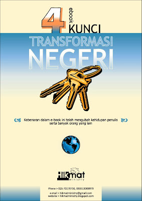 EBOOK KRISTEN, KUNCI TRANSFORMASI