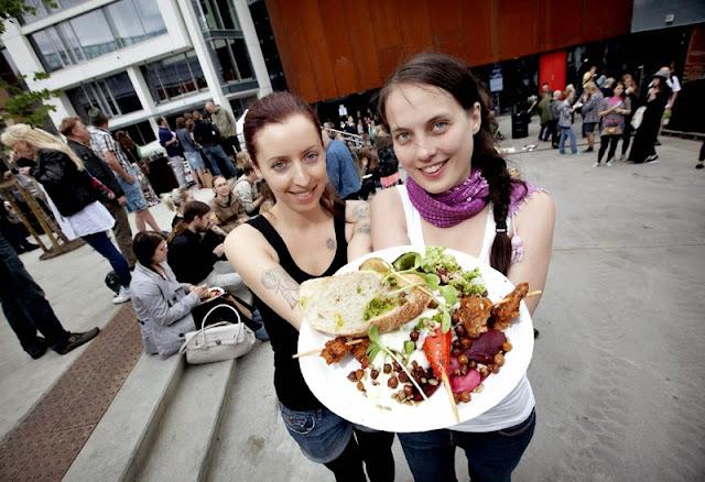 Oslo Vegetarfestival 2015 Veganmisjonen Veganmannen Synne Heidi