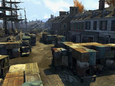 Assassin's Creed 3 Boston scene