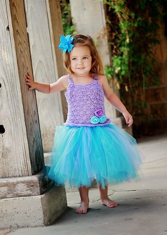 Crochet Baby Tutu Dress Pattern : Crochet Dreamz: Tutu Dress Crochet Pattern, Crochet Baby ...