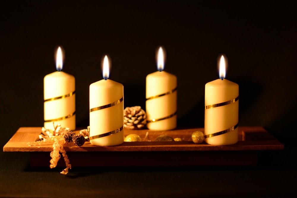 Heute zünden wir die vierte Kerze an – Einen schönen 4. Advent