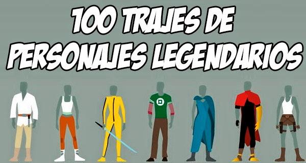 Infografía: Los 100 trajes más conocidos del cine, la televisión y los videojuegos