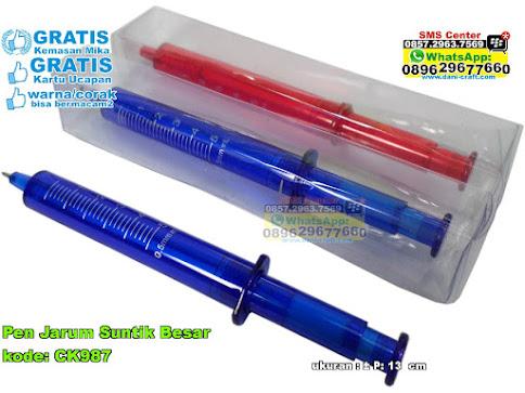 Pen Jarum Suntik Besar
