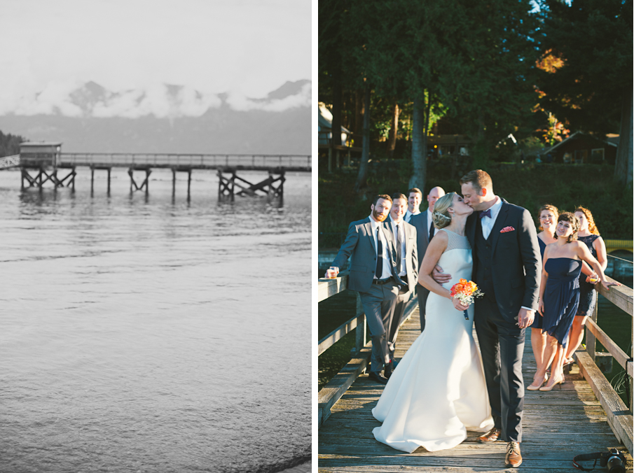 bowen island vancouver elegant outdoor nature wedding photographer photography