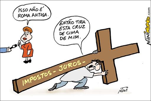 Dilma: Isso não é Roma antiga