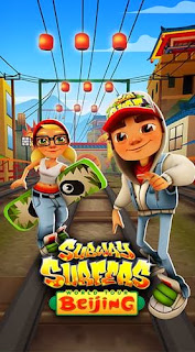 Screenshots of the Subway surfers: World tour Beijing for Android tablet, phone.