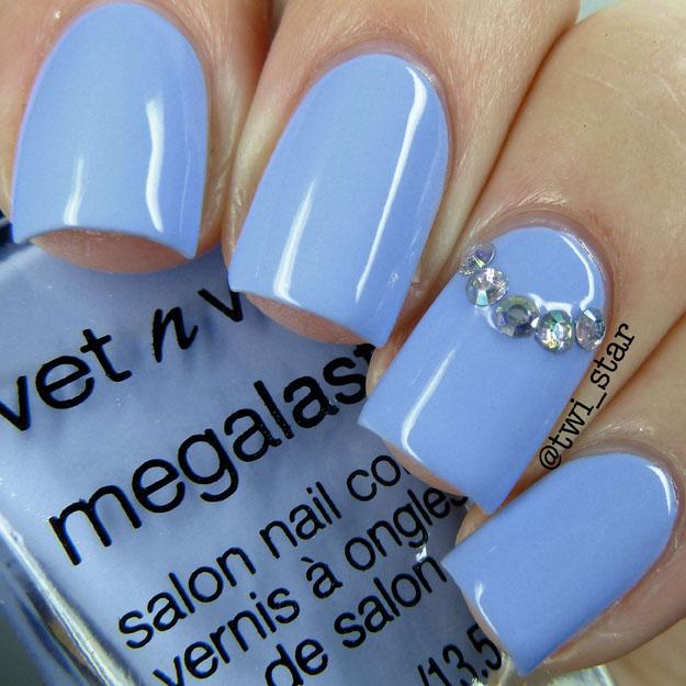 Wet N Wild Wear Skinny Jeans Silver Lake Polish Collection Swatch Spring 2015