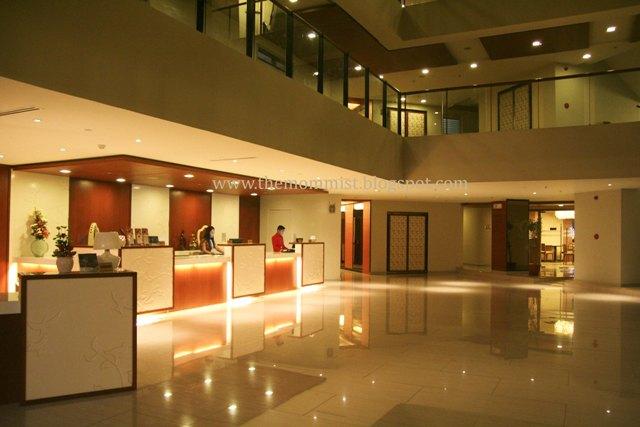 Azalea Residences hotel lobby