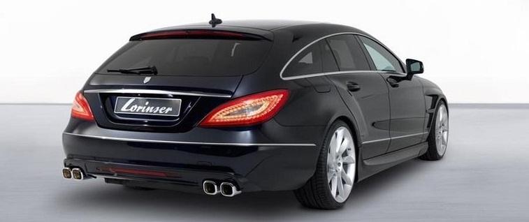 Normal etap mercedes benz cls station wagon 39 a lorinser for Mercedes benz cls station wagon