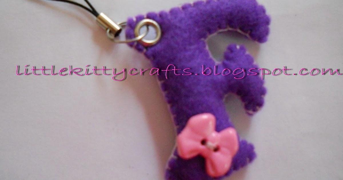 how to make handmade felt keychain