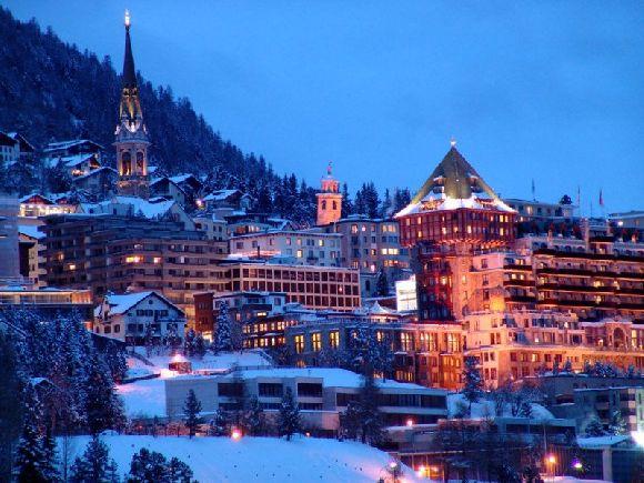 St. Moritz in Switzerland