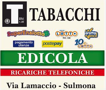 EDICOLA-RICEVITORIA-TABACCHERIA