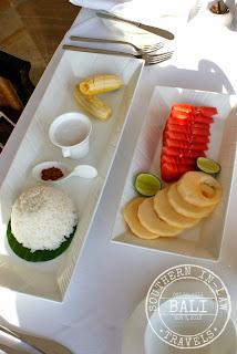 Gluten Free Breakfast in Bali, Viceroy Bali Cascades Restaurant