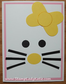 Punch art Card made with Stampin'UP! punches including the Heart Punch