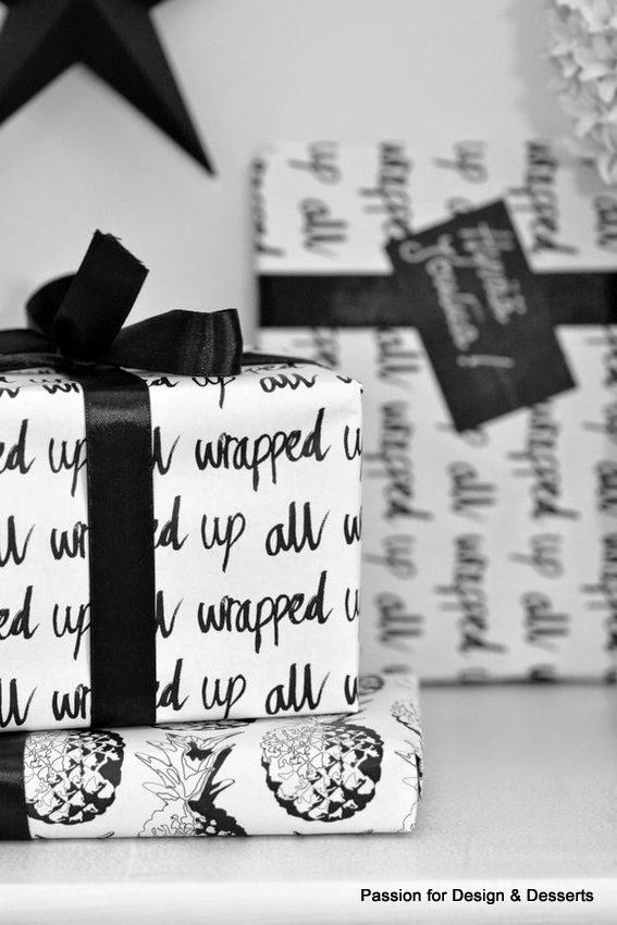 mustavalkoiset paketit