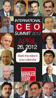 3rd INTERNATIONAL CEO SUMMIT, Manager Today, CEO Summit by Manager Today,