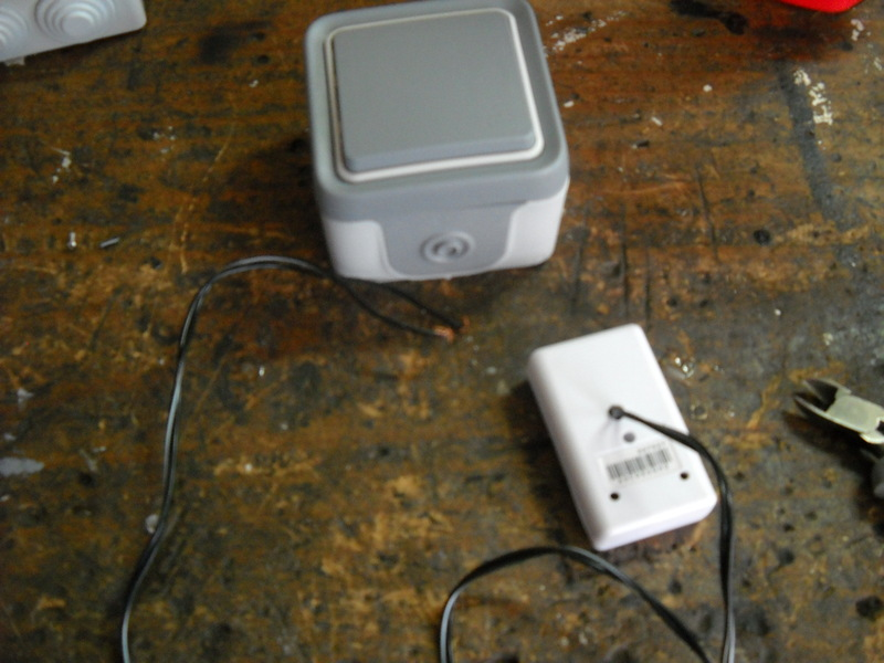 Antenistas montar pulsador de timbre inalambrico en el - Timbre inalambrico exterior ...