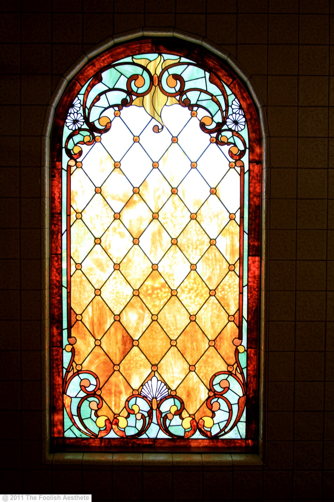 Stained Glass Windows : The foolish aesthete magical mystery tour