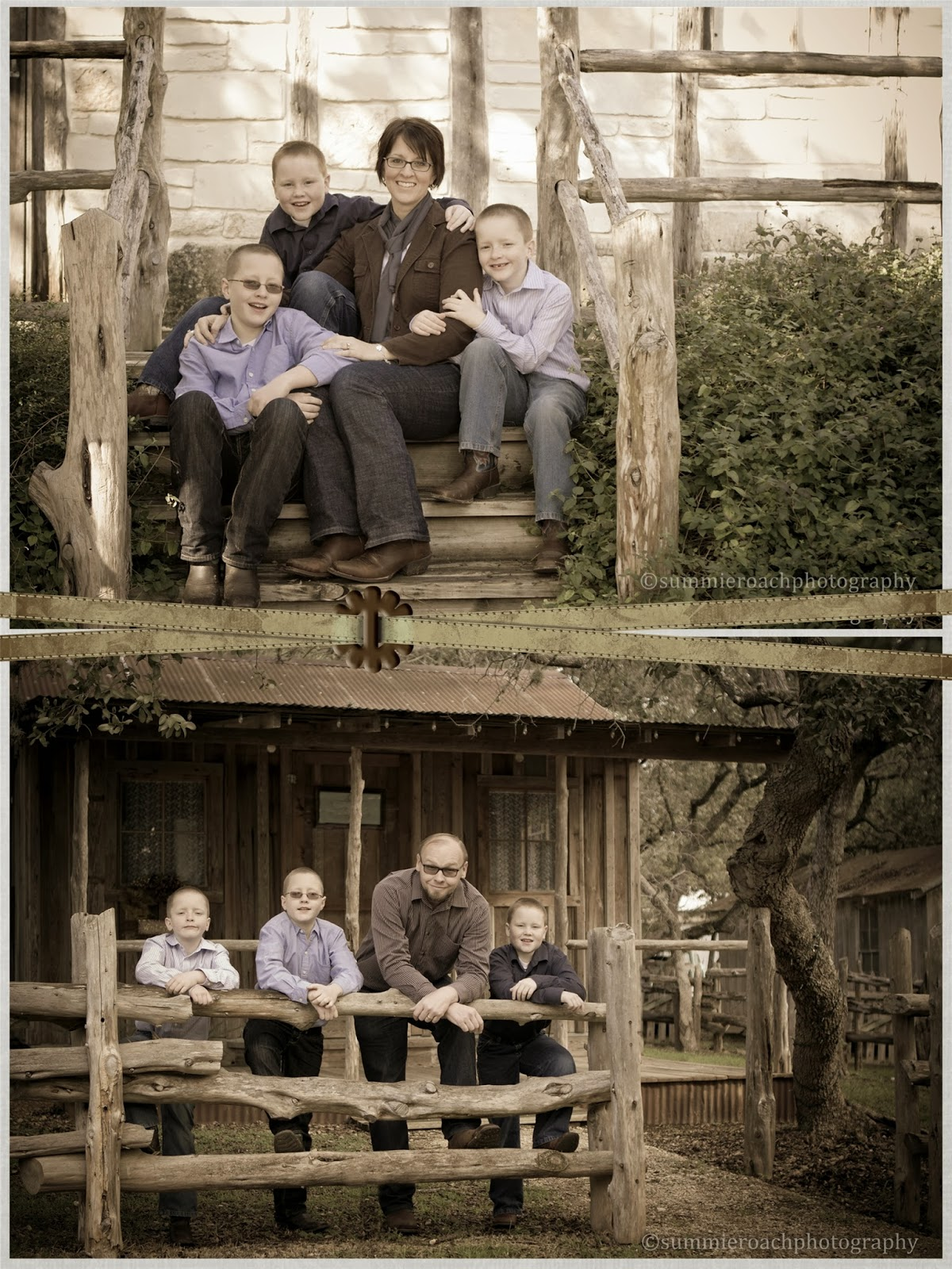 family session at bracken villages in san antonio texas